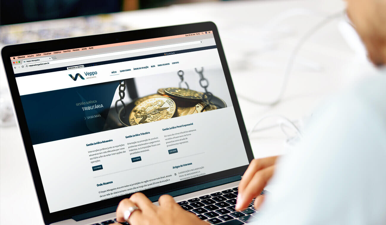 site veppo advogados