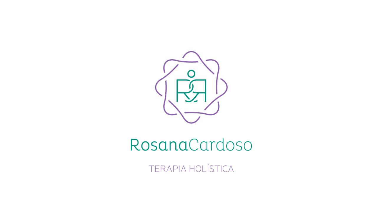 identidade visual de Rosana Cardoso Terapia holística em Porto Alegre