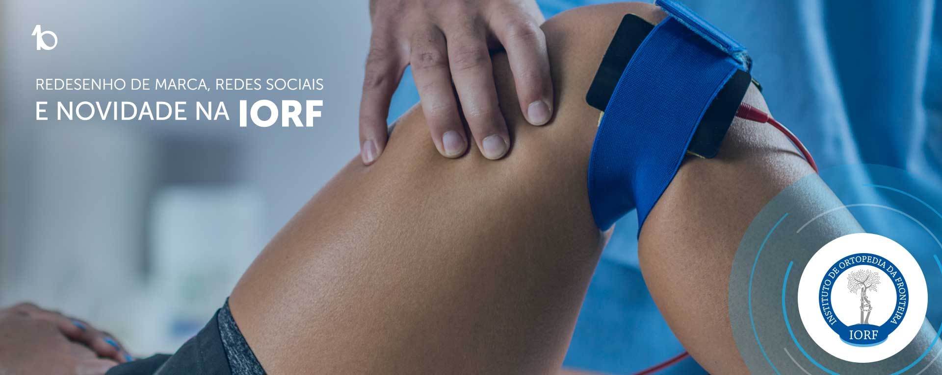 criação de identidade visual iorf clinica medica ortopedia traumatologia uruguaiana porto alegre clínica médica