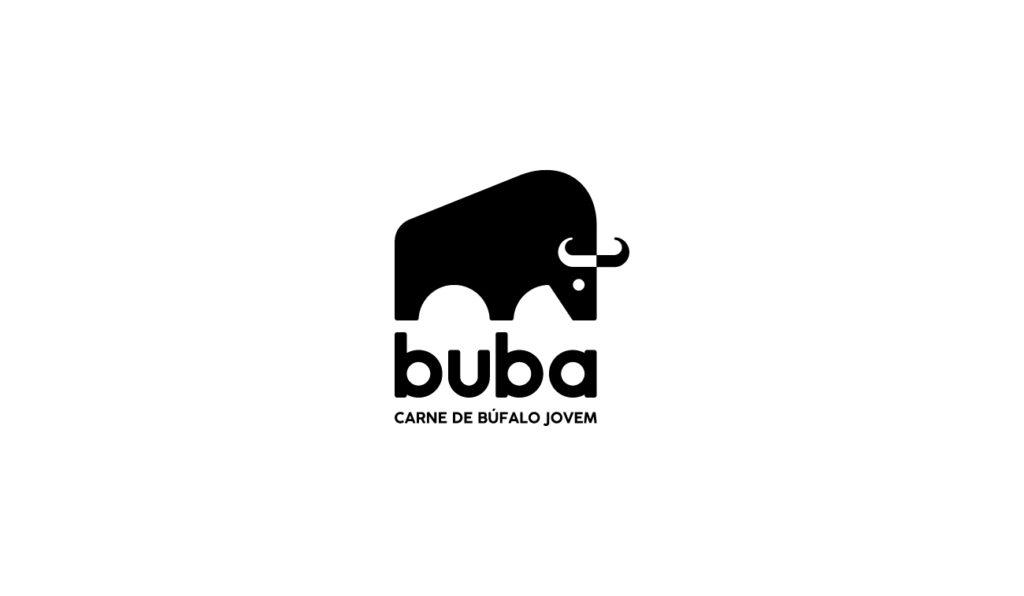 Criação de identidade visual para a marca de carnes de búfalo Buba Búfalo
