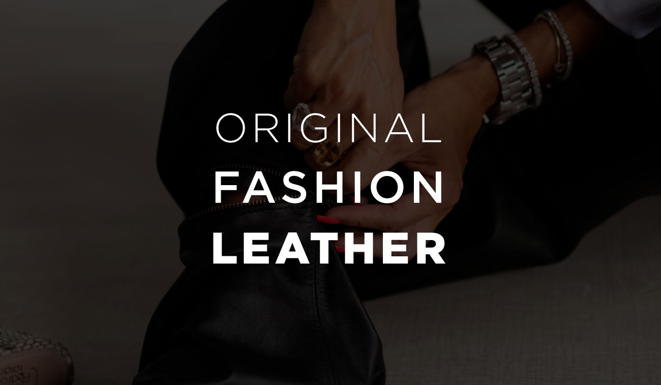 Original Fashion Leather, decodificador slogan Dani Scalvenzi
