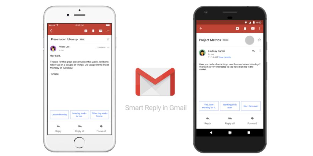Novo Gmail tem função de mensagem inteligente