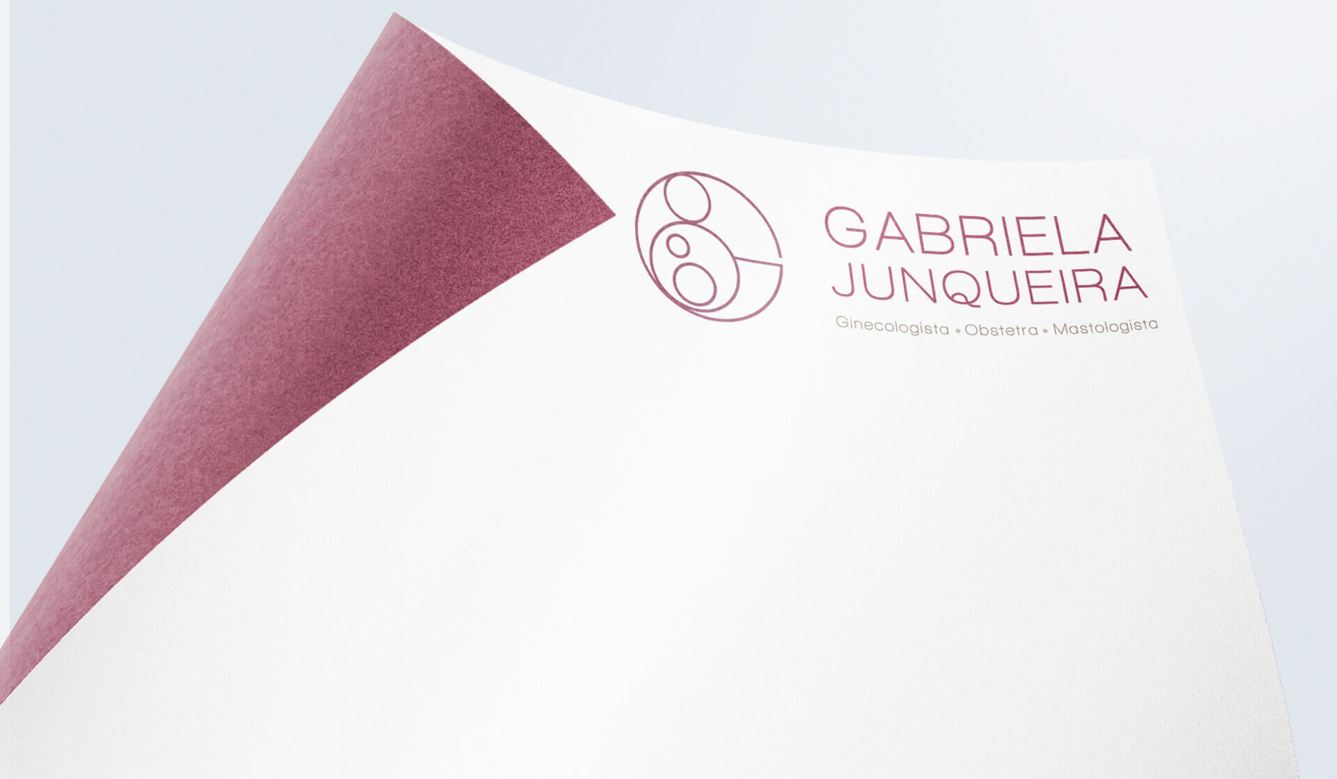 Criação de identidade visual para médica obstetra e ginecologista de piracicaba São Paulo Gabriela Junqueira
