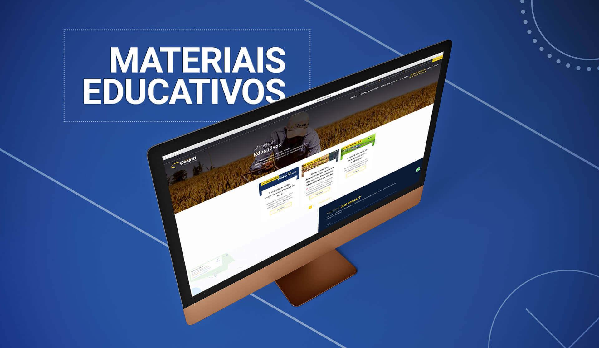 materiais educativos sementes ceratti bedez comunicação agencia de publicidade porto alegre