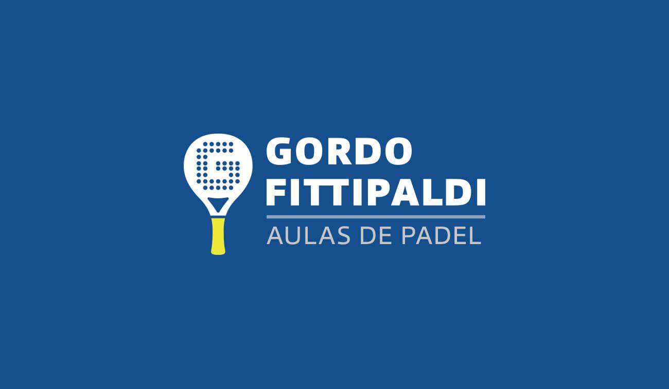 Criação de Marca - Gordo Fittipaldi Aulas de Padel Uruguaiana