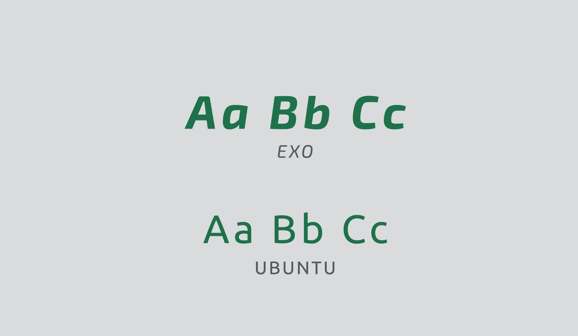 tipografia do Instituto Desenvolve Pecuária por Bedez Comunicação