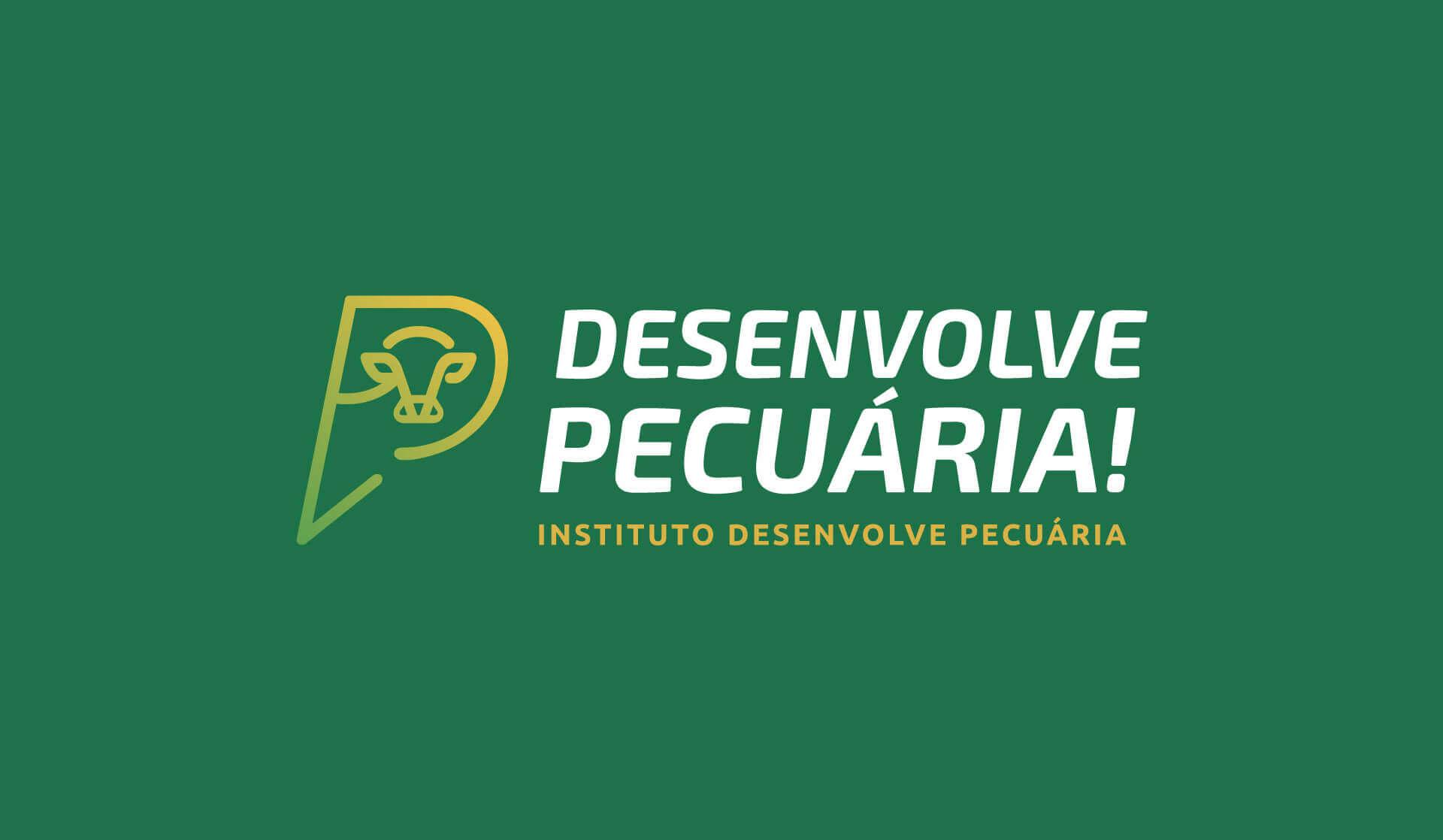 aplicação principal da marca do Instituto Desenvolve Pecuária Bedez Comunicação