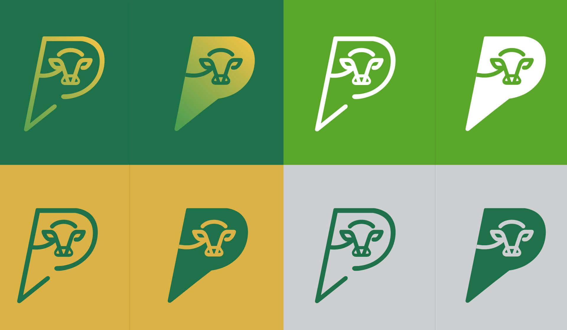 ícones do Instituto Desenvolve Pecuária Bedez Comunicação
